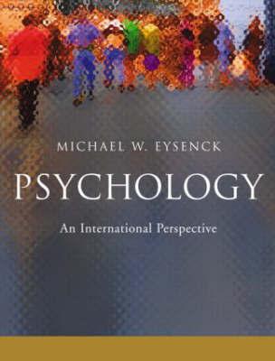 Psychology by Michael W. Eysenck image