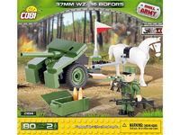 Cobi: World War 2 - 37 mm wz. 36 Bofors