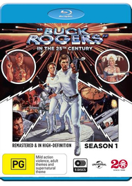 Buck Rogers In The 25th Century - Season One on Blu-ray