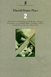 Harold Pinter Plays 2 by Harold Pinter image