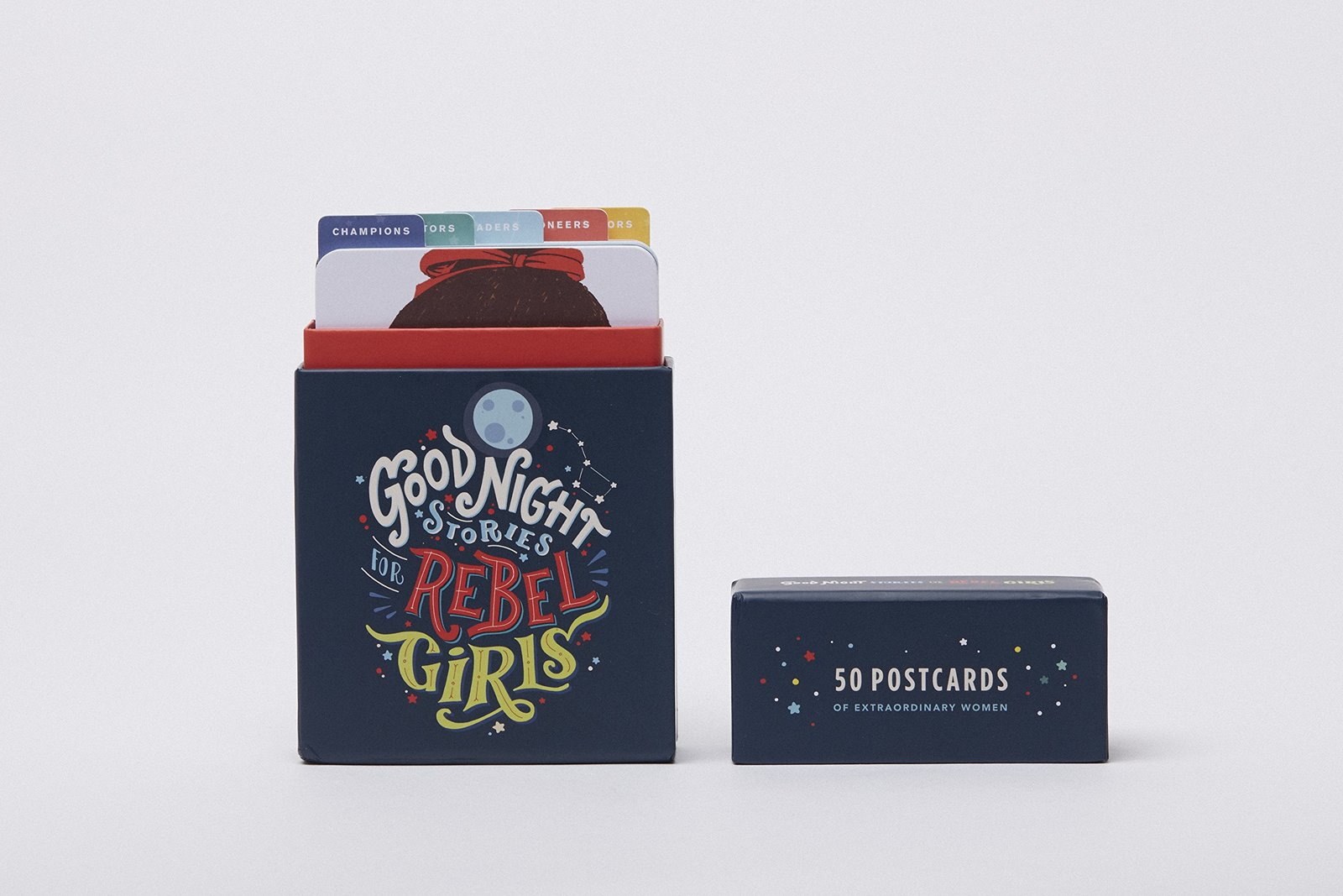 Good Night Stories for Rebel Girls: 50 Postcards by Elena Favilli image