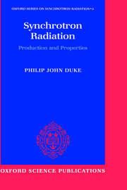 Synchrotron Radiation by Philip Duke image