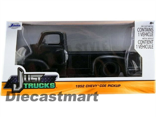 Jada: 1/24 1952 Chevy Coe Pickup (Black) – Diecast Model
