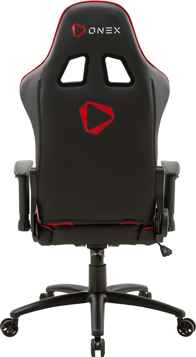 Aerocool ONEX GX330 Series Gaming Chair (Black & Red) image