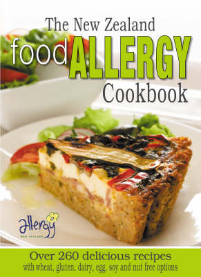 The New Zealand Food Allergy Cookbook by Allergy New Zealand image