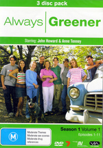 Always Greener - Season 1: Vol. 1 (3 Disc Set) on DVD