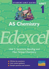 Chemistry Edexcel AS: Structure, Bonding and Main Group Chemistry: Unit 1 by Rod Beavon image