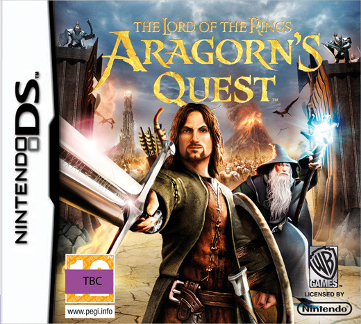 Lord of the Rings: Aragorn's Quest for Nintendo DS image