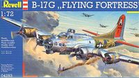 Revell - 1:72 B-17G Flying Fortress Model Kit