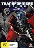 Transformers: Prime - Orion Pax on DVD