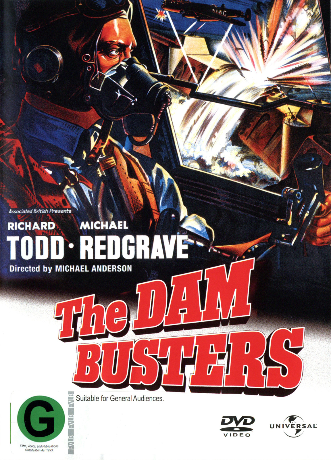 The Dam Busters on DVD image