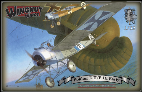 Wingnut Wings 1/32 Fokker EII/EIII Early Model Kit