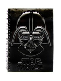 Star Wars: A5 Spiral Notebook - Darth Vader