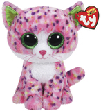 Ty Beanie Boo's - Medium Sophie Pink Cat