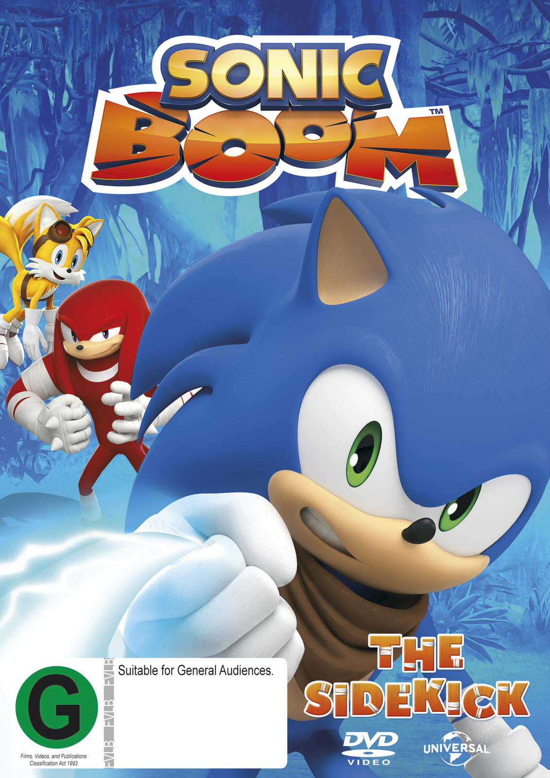 Sonic Boom - Volume 1 on DVD image