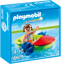 Playmobil: Childrens Paddle Boat