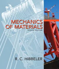 Mechanics of Materials by Russell C Hibbeler image
