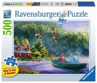 Ravensburger : Weekend Escape Puzzle Lge Format 500p