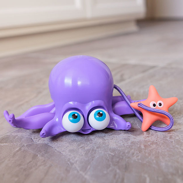 Fat Brain Toys: Inky the Octopus - Pull Toy