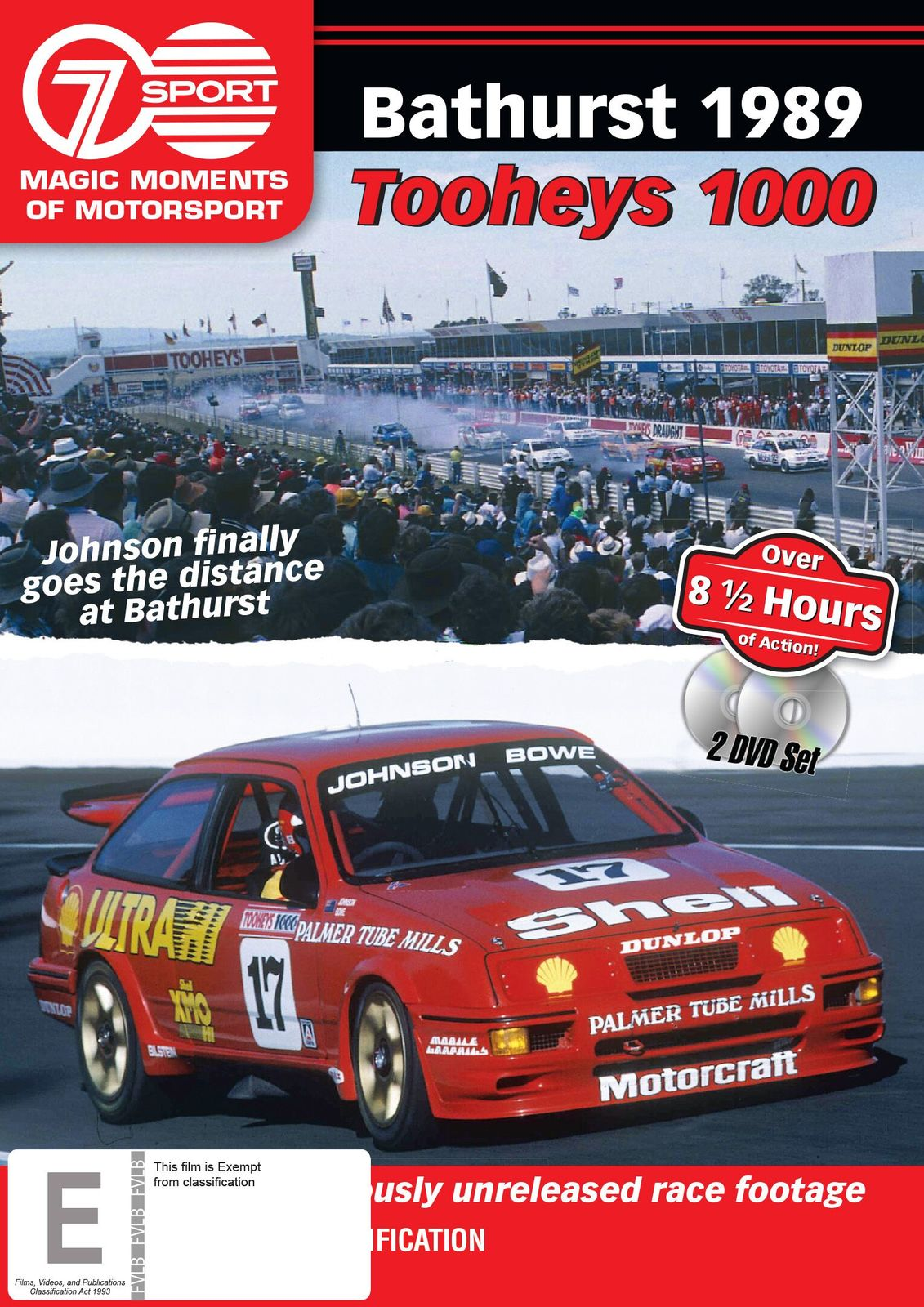Magic Moments of Motorsport: 1989 Tooheys 1000 on DVD image