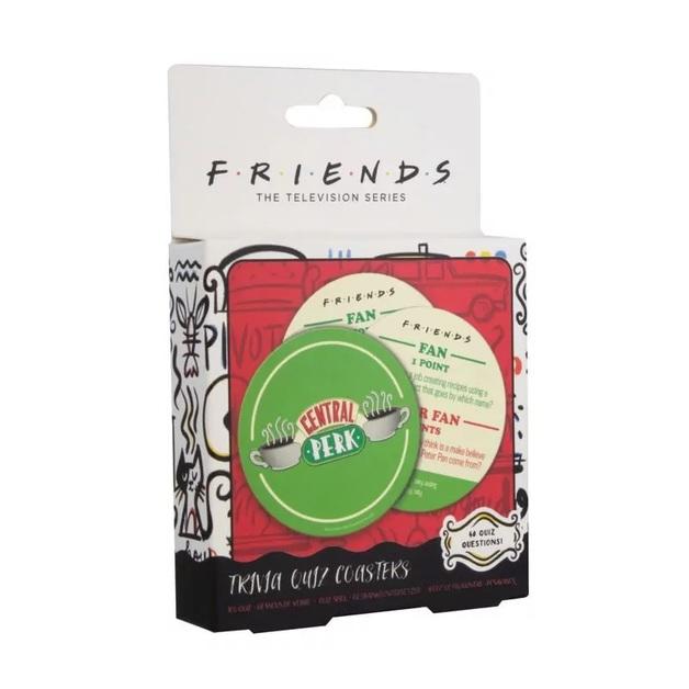 Friends: Central Perk Trivia Quiz Coasters
