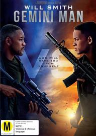 Gemini Man on DVD