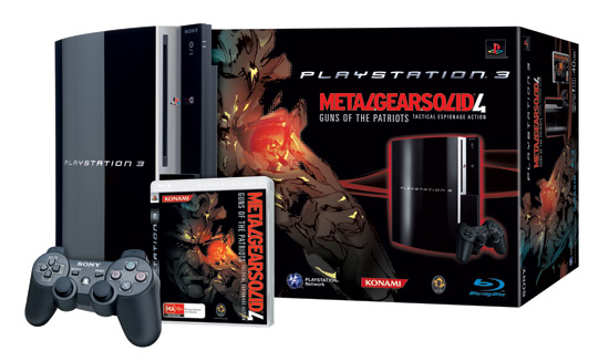 Playstation 3 Console Metal Gear Solid 4 Bundle for PS3 image