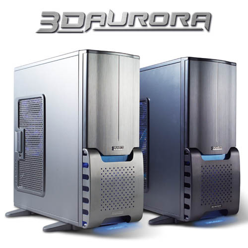 Optional Side panel to suit Gigabyte 3D Aurora Side Panel Silver