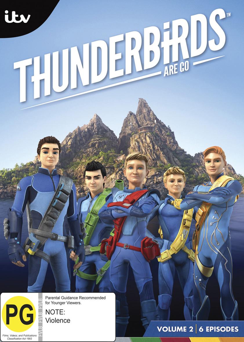 Thunderbirds are Go! - Volume 2 on DVD image