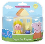 Peppa Pig: Twin Pack - Raincoat Peppa & Richard Rabbit