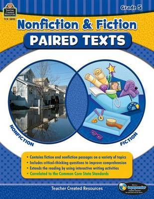 Nonfiction and Fiction Paired Texts Grade 5 by Susan Collins image