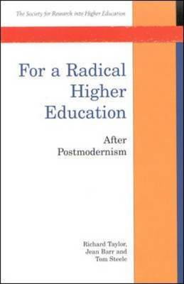 For a Radical Higher Education by Richard Taylor image