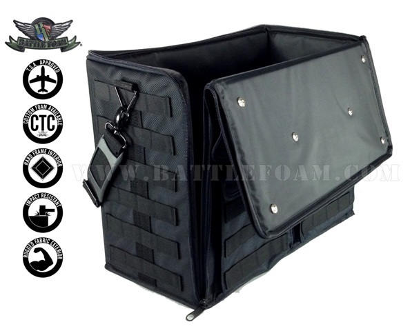 Battle Foam - P.A.C.K. 432 Molle Empty (Black) image