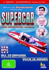 Supercar - The Complete Series (6 Disc Box Set) on DVD