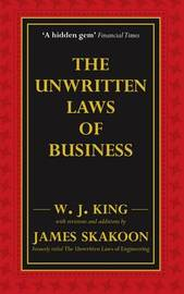 The Unwritten Laws of Business by James G. Skakoon image