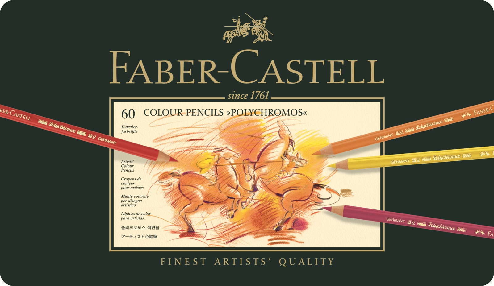 Faber-Castell: Polychromos Pencil (Tin of 60) image
