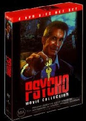 Psycho Box Set on DVD