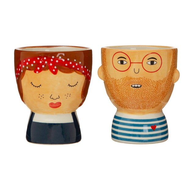 Sass & Belle: Libby & Ross Egg Cups - Set of 2