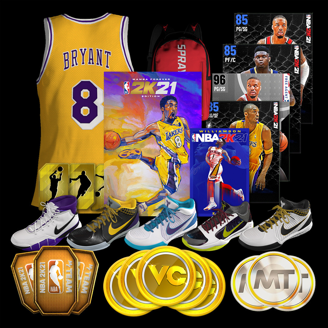 NBA 2K21 Mamba Forever Edition | PS4 | Buy Now | at Mighty ...