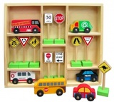 Fun Factory: Traffic Signs Set w/Cars