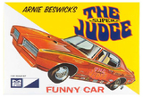 MPC 1969 Pontiac GTO Super Judge Funny Car 1/25 Model Kit