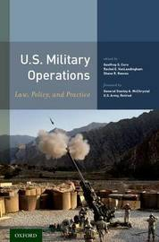 U.S. Military Operations by Stanley A. McChrystal