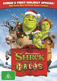 Shrek The Halls on DVD