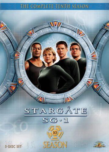 Stargate SG-1 - Season 10 (5 Disc Slimline Set) on DVD image