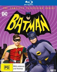 Batman - The TV Series (1966-68) on Blu-ray