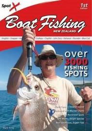 Spot X Boat Fishing New Zealand by Mark Airey