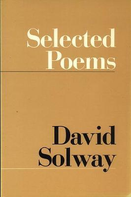Selected Poems by David Solway image