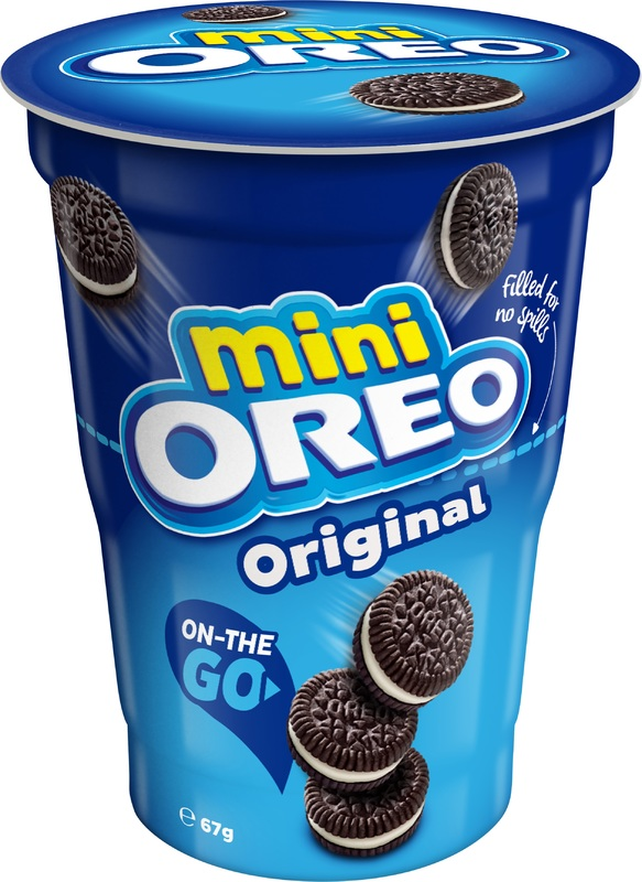 Oreo Biscuit Tubs 24 x 67g pack