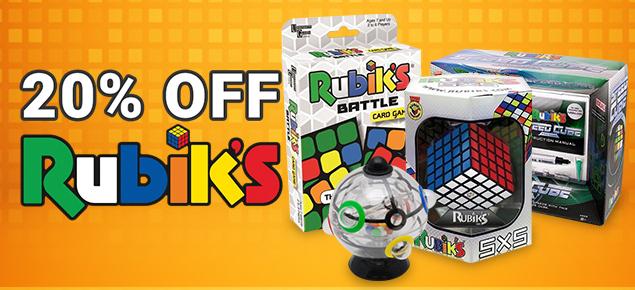 20% off Rubik's!