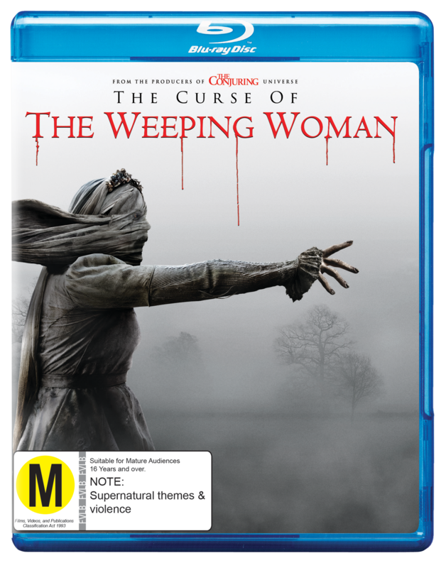 The Curse of the Weeping Woman on Blu-ray